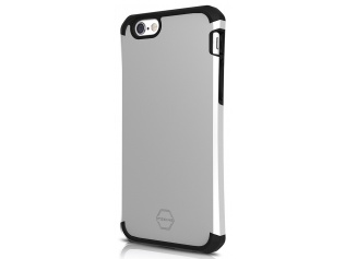 ITSKINS Evolution 2m Drop iPhone 6/6S,Silver&Black