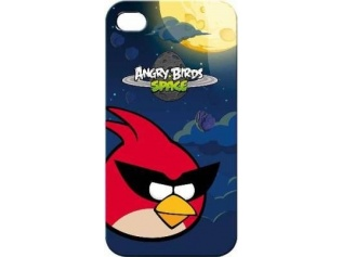 zadní kryt Angry Birds Space Red Bird pro iPhone 4/4S