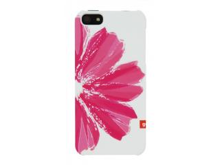 Zadní kryt na iPhone 5 - Golla Idana - bílo/růžový