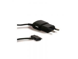 Cestovní nabíječka pro iPhone / iPod s USB portem, černá