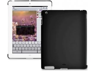 Zadní kryt na iPad 2 - Soft touch - černý