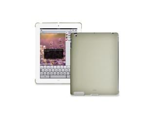 Zadní kryt na iPad 2 - Soft touch - ecru