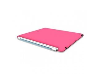 Zadní kryt na iPad 2 - Soft touch - růžový
