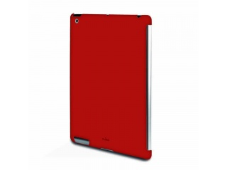 Zadní kryt na iPad 2 - Soft touch - červený