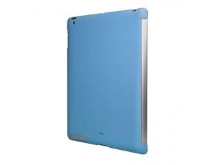 Zadní kryt na iPad 2 - Soft touch - modrý