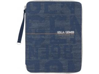 Obal na iPad, iPad 2, iPad 3, Air - Golla PUNCH - denim modrá
