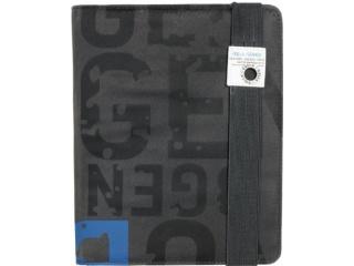 Obal na iPad 2 / iPad 3 - Golla POPTOP - tmavě šedá