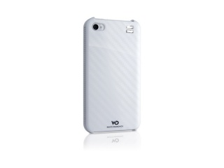 Zadní kryt na iPhone 4/4S + ochranná fólie - FOCUS, bílá