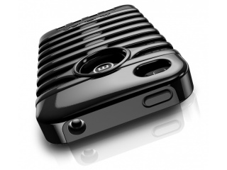 Zadní kryt na iPhone 4/4S - RETRO - ELVIS BLACK - Musubo