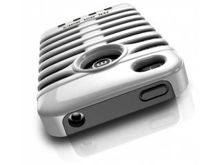 Zadní kryt na iPhone 4/4S - RETRO - ELVIS WHITE - Musubo