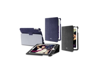Pouzdro na iPad Mini, 2 , 3 a 4 - Folio + stojánek, černá