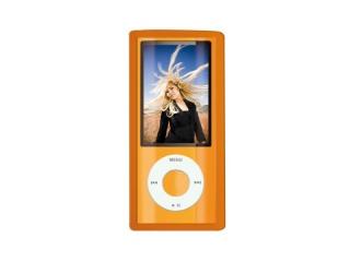 Ochranný silikový kryt iPod NANO 5 - oranžový