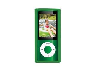 Ochranný silikový kryt iPod NANO 5 - zelený
