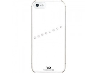 Zadní kryt na iPhone 5 - White Diamonds SASH - bílá