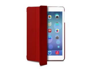 "Stojánkové pouzdro s magnetem ""ZETA SLIM"" pro iPad air, červená"
