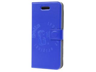 Pouzdro BOOK na iPhone 5/5S, modré