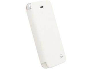 Pouzdra na iPhone 5/5S/5C typ Book, bílé