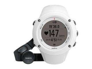 Sportovní monitorovací hodinky s hrudním pásem - Suunto Ambit2 R HR, bílé