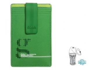 Stylové pouzdro na iPhone + DÁREK vodotěsné pouzdro, zelené