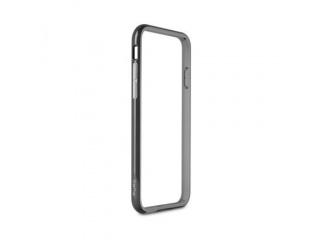 "Puro ochranný rámeček ""Bumper Cover"" pro iPhone 6 4,7"" s ochrannou fólií, černá"