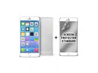 """Puro ochranný rámeček """"Bumper Cover"""" pro iPhone 6 4,7"""" s ochrannou fólií, bílá"""
