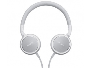 SONY stereo sluchátka MDR-ZX610AP, bílá