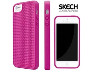 Grip Shock pink iPhone 5 case