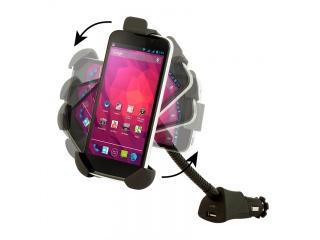 Auto držák na mobil + USB