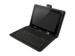 """Pouzdro s klávesnicí pro tablet 10.1"""", konektor micro USB, černé"""