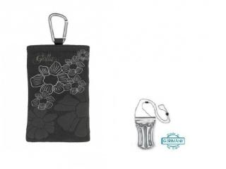 Stylové pouzdro na iPhone + DÁREK vodotěsné pouzdro, květiny
