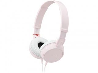 SONY stereo sluchátka MDR-ZX100, růžová