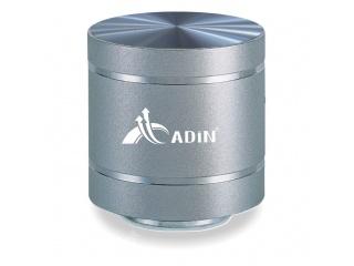 Vibrační reproduktor 3v1 - ADIN, stříbrný