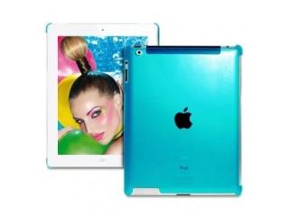 Ochranný kryt pro iPad - Crystal Fluo Cover - modrý