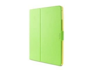 "Puro stojánkové pouzdro s magnetem ""BI-COLOR 360°"" pro iPad air, zeleno/žlutá"