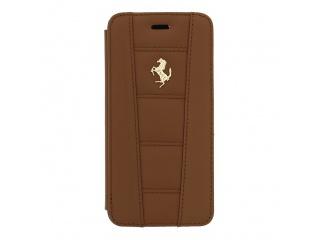 "Ferrari Book Pouzdro Camel Gold pro iPhone 6 4.7"""