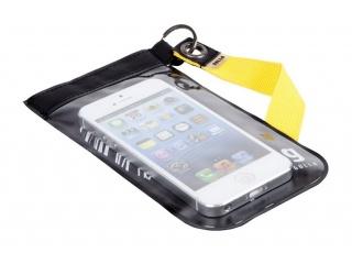 GOLLA univerzální pouzdro na mobil s poutkem a průhledným okýnkem, černo-žluté