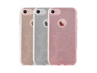 "Puro ""SHINE COVER"" pro iPhone 6/6s , stříbrná"