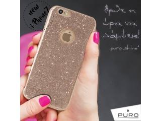 "Puro ""SHINE COVER"" pro iPhone 6/6s , zlatá"