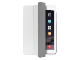 """Puro polohovací flipové pouzdro """"Zeta Slim Plasma"""" pro iPad Air 2, bílá"""