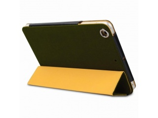 Krusell Walk on Water polohovací flipové pouzdro Harbour pro iPad Air, olivově zelená