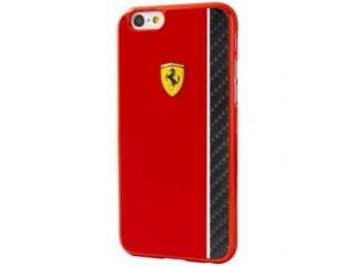 Ferrari Scuderia Zadní Kryt Red/Carbon pro iPhone 6/6S