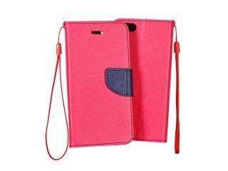 obal typu knižka pro iPhone 4/4S pink/navy